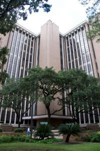 Reuel A. Stallones Building in the Texas Medical Center in Houston