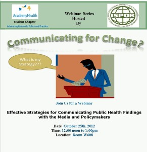 comunication strategy flyer 291x300 | Academy Health Student Chapter
