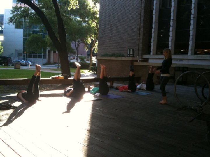 SSGH Yoga in the Park 2011