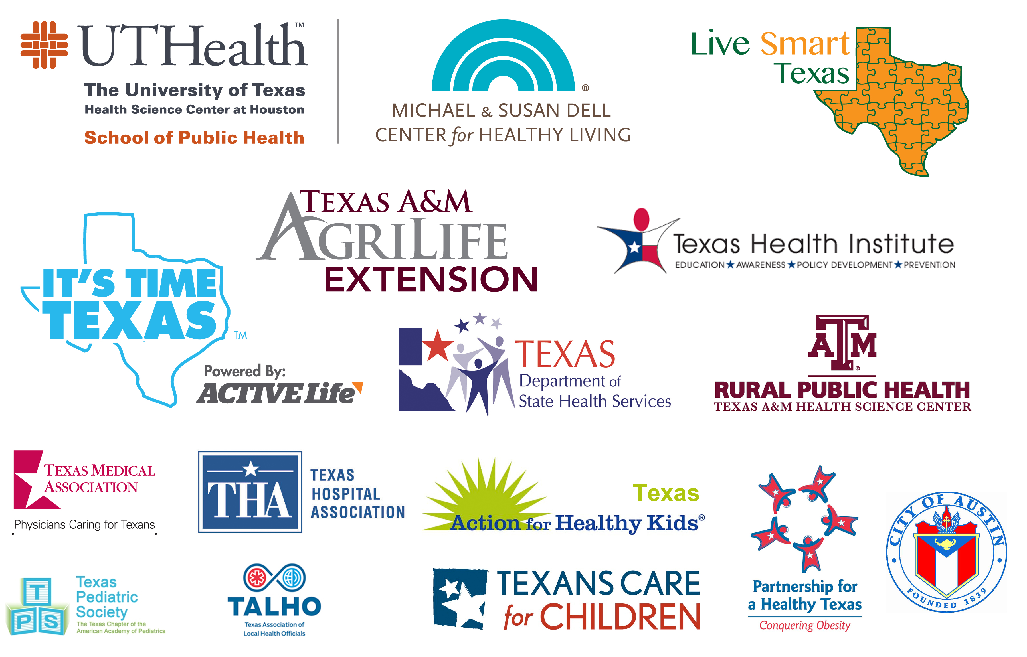 TOAW Partners 20131 | Texas Obesity Awareness Week