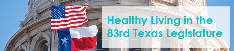 Healthy Living in 83rd Txlege banner | Michael & Susan Dell Center for Healthy Living
