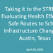 Thumbnail - Taking it to the STREETS: Evaluating health effects of Safe Routes to School infrastructure changes in Austin, Texas