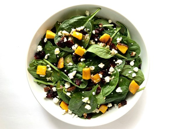 Butternut Squash and Cranberry Salad