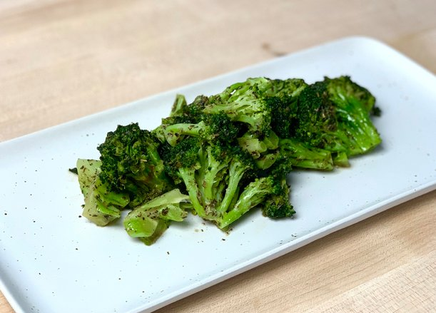 Garlic and Herb Butter Broccoli
