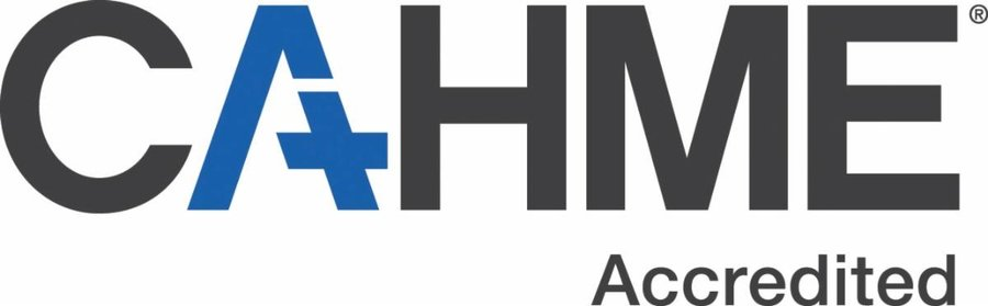 CAHME Accredited logo